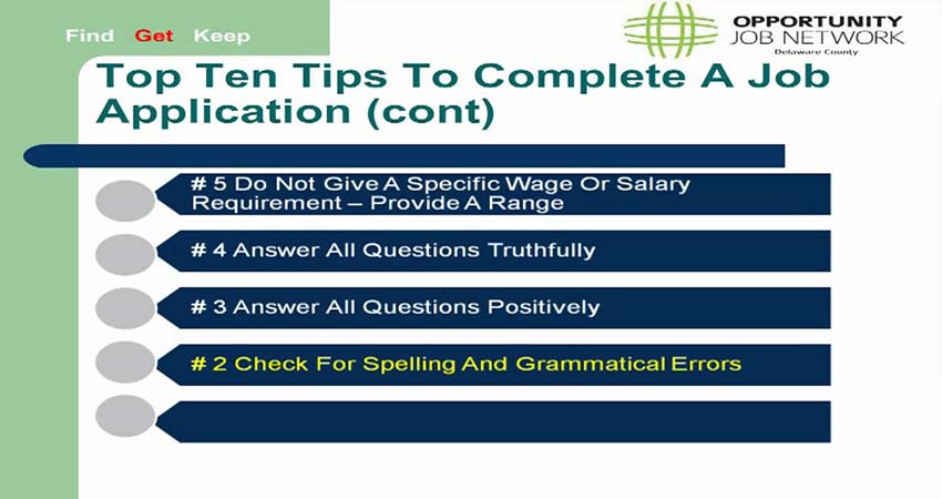 Tips Applying for Online job